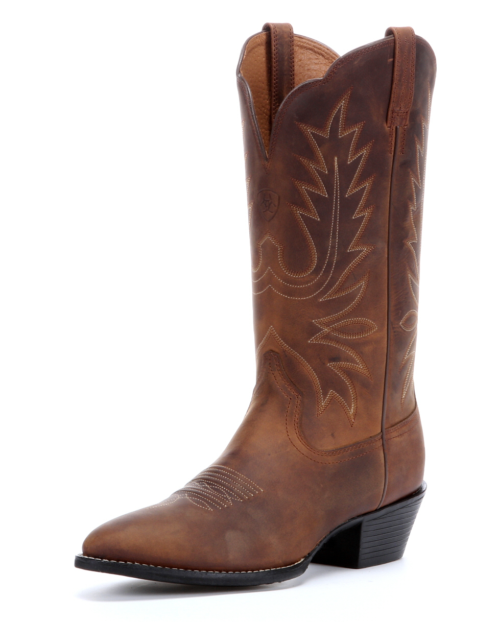 Brown Cowgirl Boots Cheap - Cr Boot